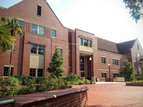 Florida A&M University pharmacy building. This university is the cheapest pharmacy school in US