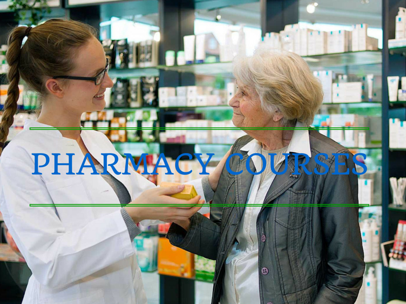 What are the Different Pharmacy Courses?