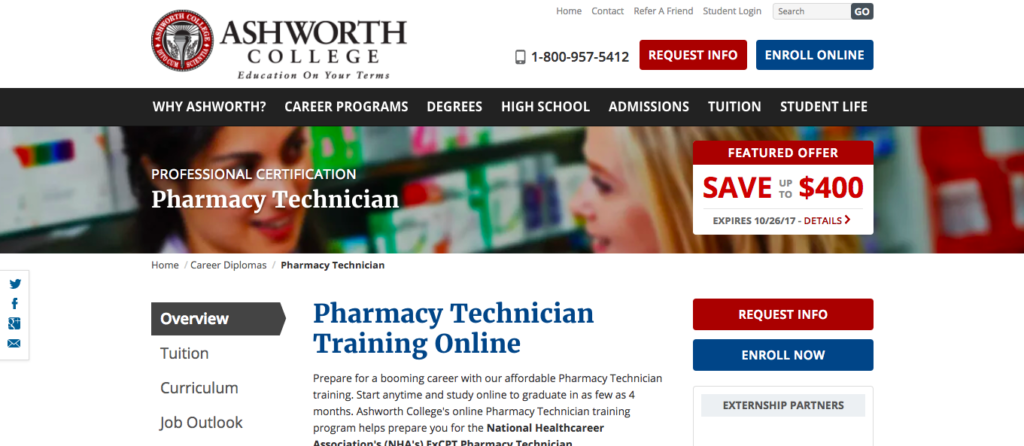 Pharmacy Technician Training Online the best school s inthe USA